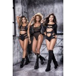 8508 Bodysuit Color Black