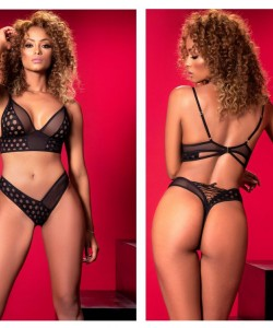 8520 Two Piece Set Color Black