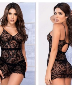 7358 Babydoll Color Black