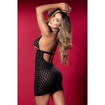 7305 Babydoll with Matching G-String Color Black