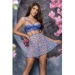 7364 Babydoll Color Blossom Blue