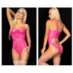 8615 Bodysuit Color Neon Pink