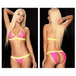 8617 Two Piece Set Color Pink-Green