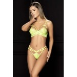 8619 Two Piece Set Color Neon Green