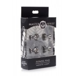 Power Pins Magnetic Nipple Clamps
