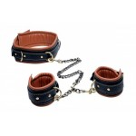 Coax Collar to Wrist Restraints