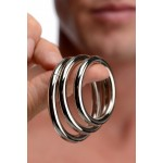 Trine Steel Ring Collection