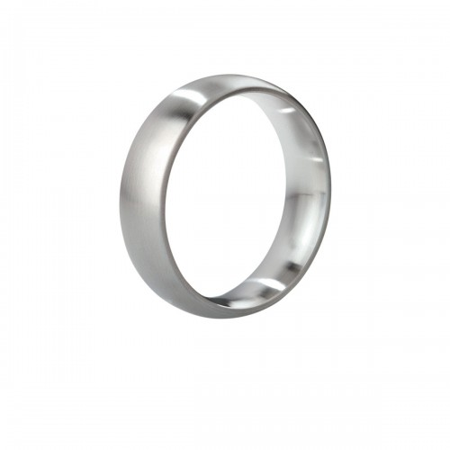 Mystim Earl Brushed Steel Cock Ring