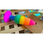 Colours Pride Edition Silicone Rainbow Butt Plug