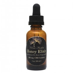 CBD Honey Flavored Elixir Tincture 300mg
