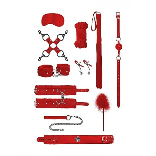 Intermediate Bondage Kit - Red