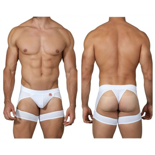 PIK 0211 Adrenalin Garter Thongs Color White
