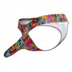 PIK 0228 Castro Printed Thongs Color Pink