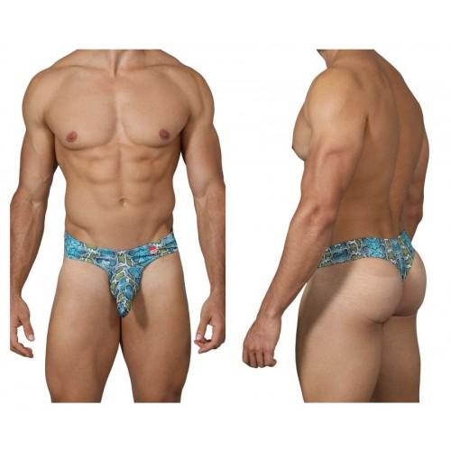 PIK 0231 Castro Printed Thongs Color Blue