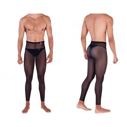 PIK 0336 Manhood Long Johns Thongs Color Black