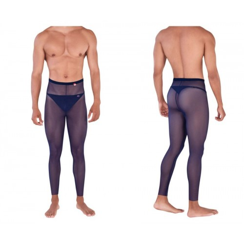 PIK 0336 Manhood Long Johns Thongs Color Dark Blue