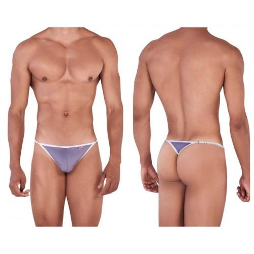 PIK 0338 Bud Thongs Color Gray