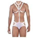 PIK 0346 Dominate Harness Jockstrap Color White