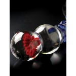 Icicles No. 18 Curved Glass G-Spot Wand