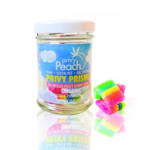 Privy Peach CBD Prism Gummies