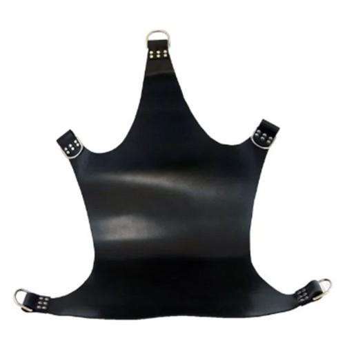 Black Leather Sling