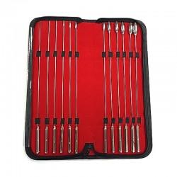 Rosebud Urethral Sound 12 Piece Dilator Set