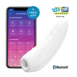 Curvy 1+ Air Pulse Stimulator & Vibration App Control