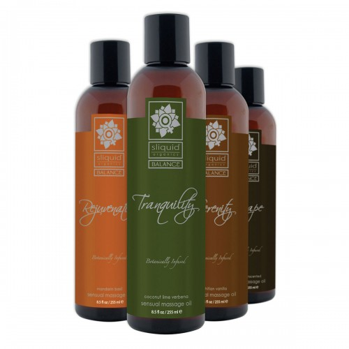Sliquid Balance Massage Oils