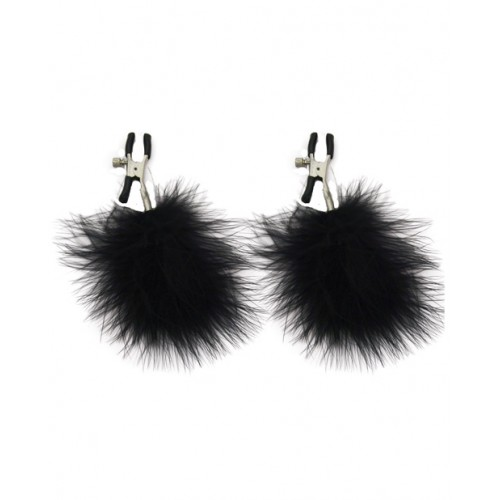 Feathered Nipple Clips