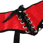 Sunset Lace Plus Size Corsette Strap On Harness