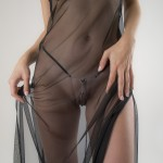 Scarab G-String with Hematite Pleasure Pendants in Gold or Silver