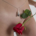 Secret Passion Pendant Waist Chain in Gold or Silver