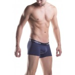 Unico 1200080382 Mini Boxer Briefs Profundo Microfiber Color Blue