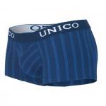 Unico 1400080382 Boxer Briefs Paralelo Cotton Color Blue