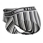 Unico 1902020112552 Briefs Crossbreed Color Black-White