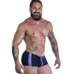 Sportivo Square Cut Black & Purple