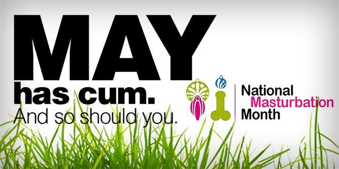 May National Masturbation Month