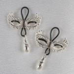 Love Masks of Venice Nipple Rings in Silver